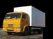 Изотерм. фургон на шасси Камаз-4308-C3 (дв. Cummins,  245 л.с.)
