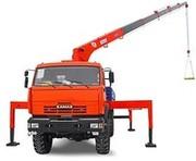 Кран манипулятор Kanglim KS1256G-II шасси КАМАЗ-43118-24