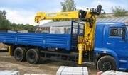 КМУ SOOSAN SCS 736 на бортовом КАМАЗ-65117-N3