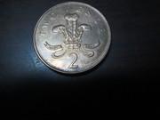 продам монету (two 2  pence 1993 года)