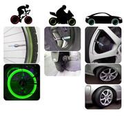 Светодиодные,  неоновые лампочки с датчиком движения для колёс автомоби