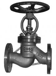 Вентиль стальной фланцевый (Россия)