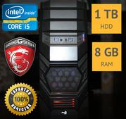 Мощный игровой компьютер | MSI Gaming R9 270X / 8GB/ 1TB / 500W / WiFi