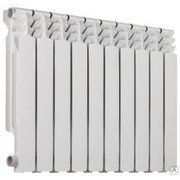 Алюминиевый радиатор Ресурс 500/100,  1 секция