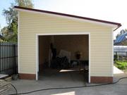 Строительство гаражей или пристроек.